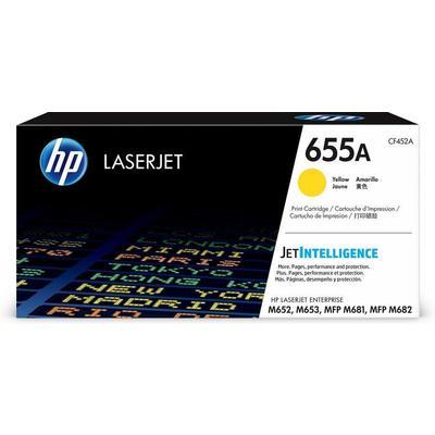 Картридж лазерный HP 655A CF452A для HP желтый оригинальный