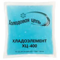 Аккумулятор холода ТермоКонт ХЦ-400 голубой 370 мл