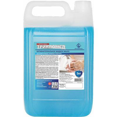 Мыло жидкое Флореаль Трикломед антибактериальное 5 л
