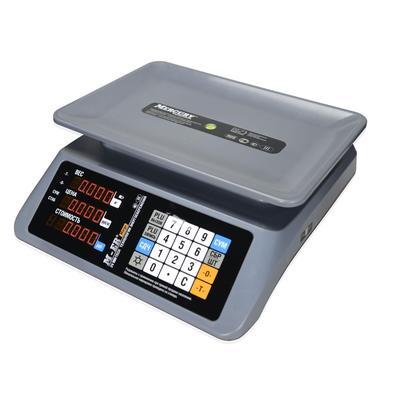 Весы торговые настольные Mercury M-ER 321 AC-15.2 Margo LED