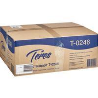 Полотенца бумажные листовые Терес Z-сложения 1-слойные 15 пачек по 200 листов (артикул производителя Т-0246)