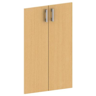 Двери Арго А-602 бук с фурнитурой (бук, 710х18х760, 2 штуки в упаковке)