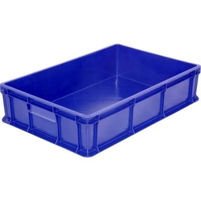 Ящик (лоток) универсальный из ПНД 600x400x140 мм синий