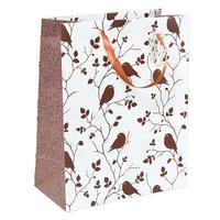 Пакет подарочный ламинированный Птички (32.4x26x10.2 см)