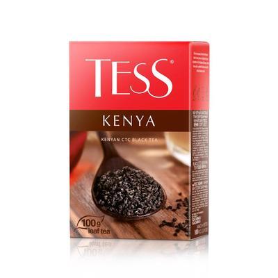 Чай Tess Kenya гранулированный черный 100 г