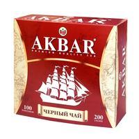 Чай Акбар черный 100 пакетиков