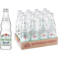 Вода минеральная Черноголовская газированная 0.33 л стекло (12 штук в упаковке)