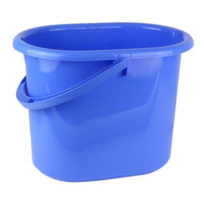 Ведро 9,5 л пластиковое сиреневое