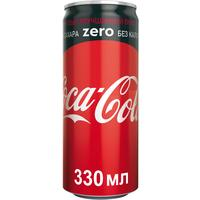 Напиток Coca-Cola Zero газированный 0.33 л