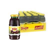 Нектар Pago вишня/лимон/бузина/черная смородина 0.2 л (24 штуки в упаковке)