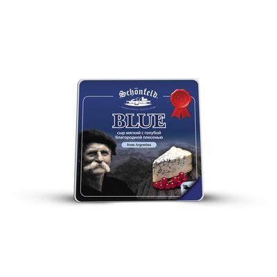 Сыр Schonfeld Blue с благородной голубой плесенью 54% кусок 100 г