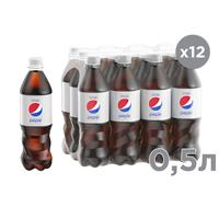 Напиток Pepsi Light газированный 0.5 л (12 штук в упаковке)