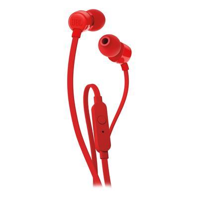 Наушники JBL T110RED красные