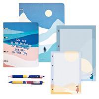 Набор Be Smart Freedom тетради, сменные блоки, ручки (6 предметов)