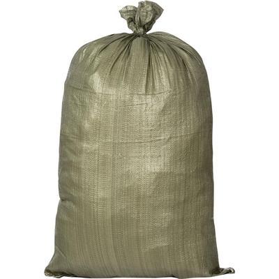 Мешок полипропиленовый второй сорт зеленый 70x120 см (100 штук в упаковке)