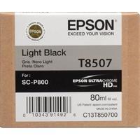 Картридж струйный Epson T8507 C13T850700 серый оригинальный