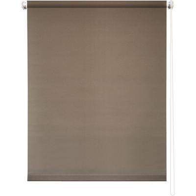 Рулонная штора Плайн 7518 молочный шоколад (600х1750 мм)