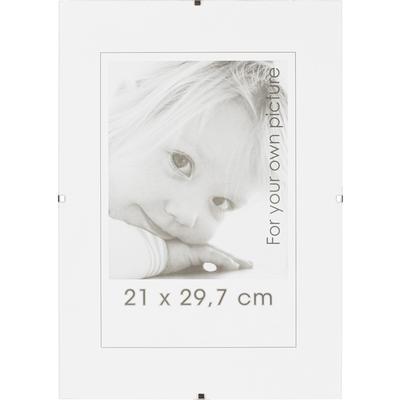 Рамка Clip frame А4 21x30 см без багета прозрачная