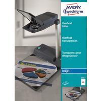 Пленка для проекторов Avery Zweckform Z2502 прозрачная А4 (50 листов, артикул производителя 2502)
