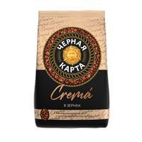 Кофе в зернах Черная Карта Сrema 1 кг