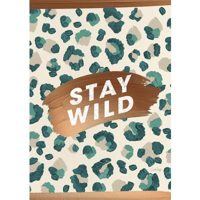 Тетрадь общая Academy Style Животный принт Jewel Грин А4 96 листов в клетку на скрепке (обложка в ассортименте)