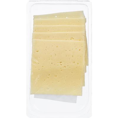 Сыр ВкусВилл Избенка Российский нарезка 50% 150 г