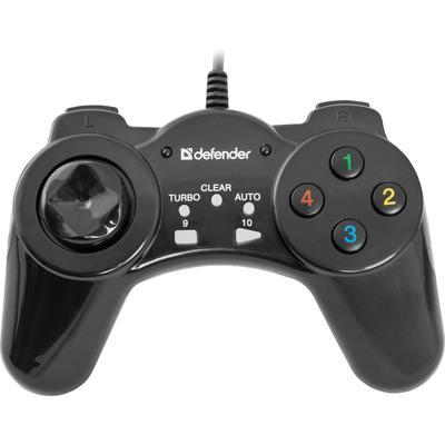 Геймпад проводной  Defender Vortex USB (64249) черный