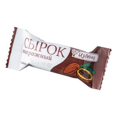Сырок творожный ВкусВилл Избенка с какао 11% 40 г (25 шук в упаковке)