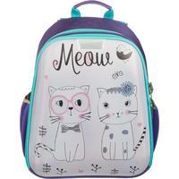 Ранец №1 School анатомическийl Meow (экокожа)