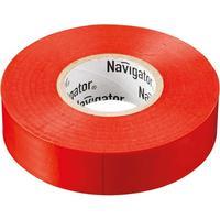 Изолента Navigator ПВХ 15 мм x 20 м красная