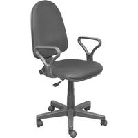 Кресло офисное Prestige GTP серое (ткань, пластик)
