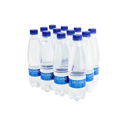 Вода природная Legend of Baikal негазированная 0.5 л (12 штук в упаковке)