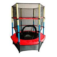 Батут DFC Jump Kids 55 красный/желтый/синий (137 см)