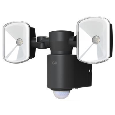 Прожектор светодиодный GP SafeGuard LSS8B-2B1 автономный с датчиком движения 6 Вт 5500 К IP55