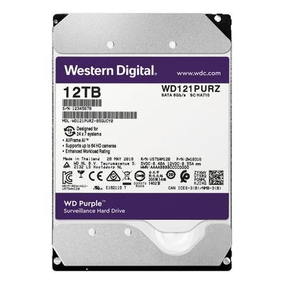 Жесткий диск Western Digital 12 Tb 3.5 дюйма SATA 3 WD121PURZ