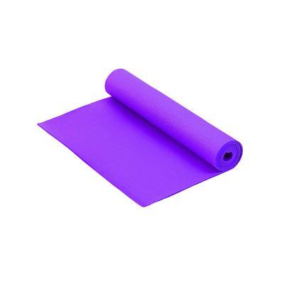 Коврик для фитнеса и йоги Larsen PVC фиолетовый 1800x610x5 мм