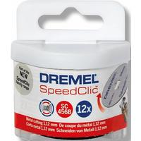 Круг отрезной Dremel Speed clic SC456 12 штук в упаковке 38 мм (2615S456JD)