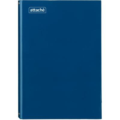 Бизнес-тетрадь Attache А4 80 листов синяя в клетку на кольцах (210х298  мм)