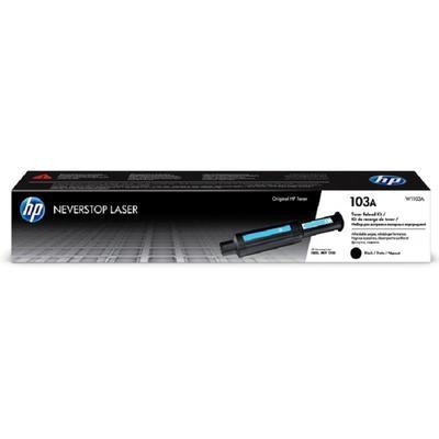 Заправочный комплект тонера HP 103A W1103A Neverstop Laser черный оригинальный