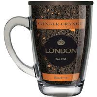 Чай подарочный London Tea Club Имбирь-апельсин листовой черный 70 г