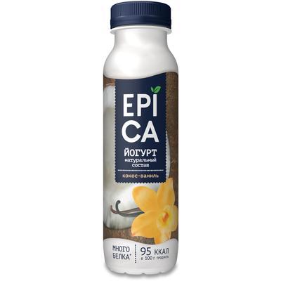 Йогурт питьевой Epica кокос/ваниль 3.6% 290 г