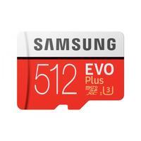Карта памяти 512 Гб microSDXC Samsung EVO Plus Class 10 (MB-MC512HA/RU)