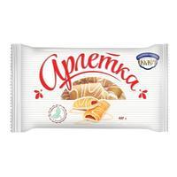 Печенье сдобное Полет Арлетка в белом шоколаде 400 г