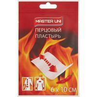 Пластырь перцовый Master Uni 6х10 см