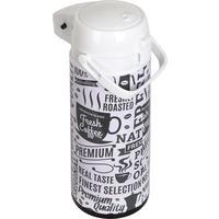 Термос Bekker 1.9 л белый/черный