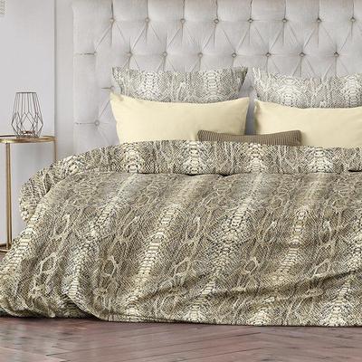 Постельное белье Романтика Jungle (евро, 2 наволочки 70х70 см, 2 наволочки 50х70 см, сатин)
