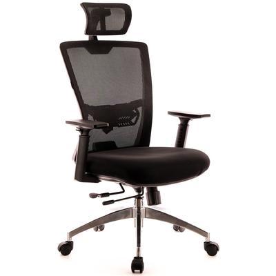 Кресло для руководителя Everprof Polo S черное (сетка/ткань, металл)