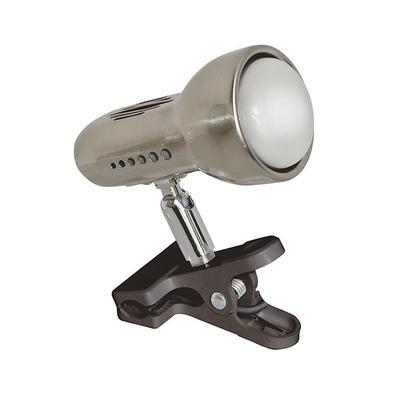 Светильник настольный Акцент 0014-C 1xR50 E14 матовый никель