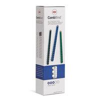 Пружины для переплета пластиковые GBC 6 мм белые (100 штук в упаковке)