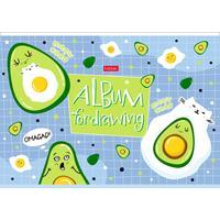 Альбом для рисования Hatber Веселые авокадики А4 16 листов